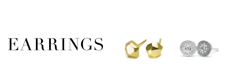 earrings, gold dipped, $60 - $69