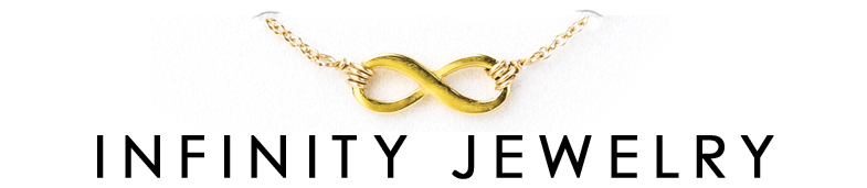 gold dipped, infinity sign