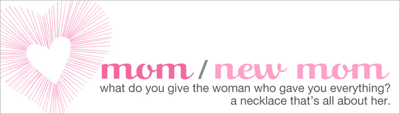 necklaces, bridal, gift box, i {heart} mom, $50 - $59