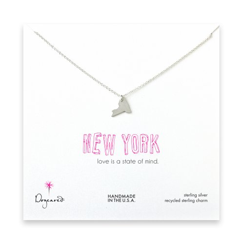new york necklace, sterling silver