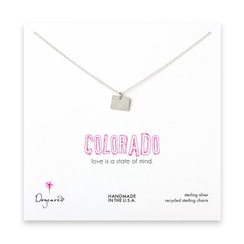 colorado necklace, sterling silver