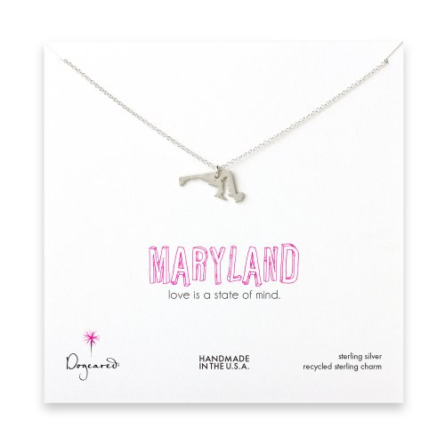 maryland necklace, sterling silver