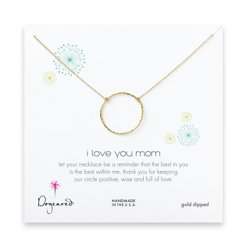 mom sparkle karma, gold dipped