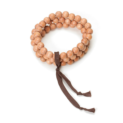 not to worry rose wood bracelet set of 3