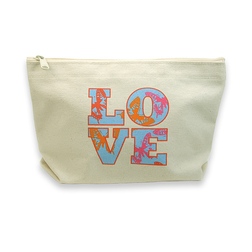 lil zip bag with love butterflies