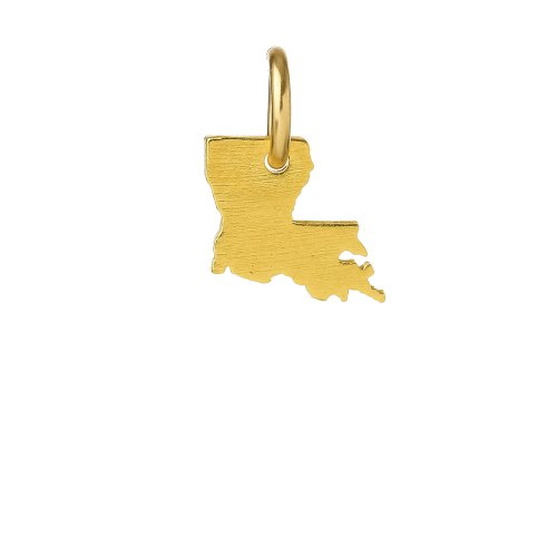 louisiana charm, gold dipped