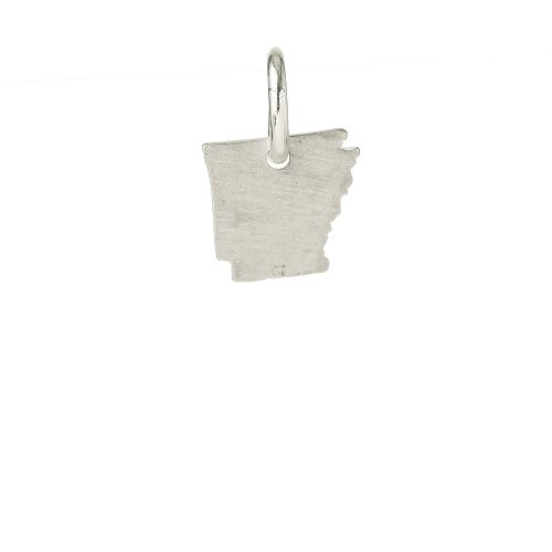 arkansas charm, sterling silver