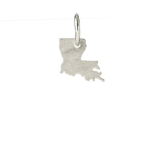 louisiana charm, sterling silver