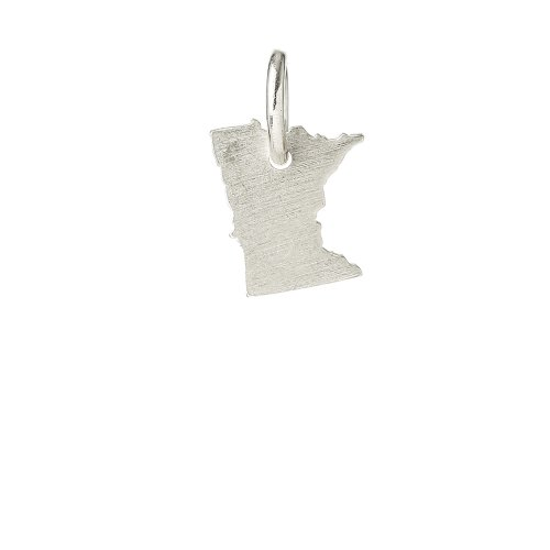 minnesota charm, sterling silver
