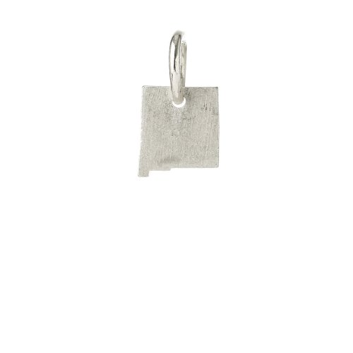 new mexico charm, sterling silver