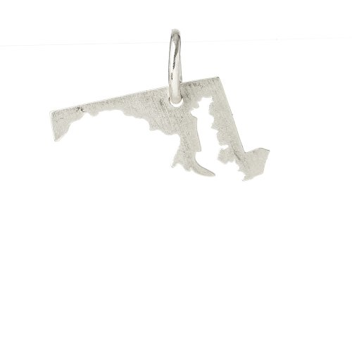 maryland charm, sterling silver