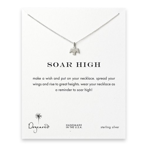 soar high thunderbird necklace, sterling silver