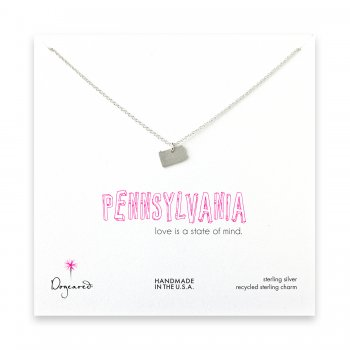 pennsylvania necklace, sterling silver