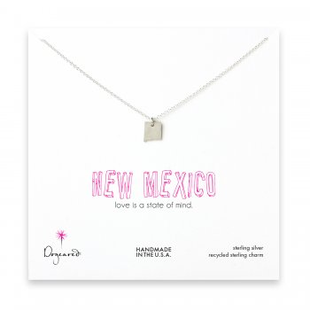 new mexico necklace, sterling silver