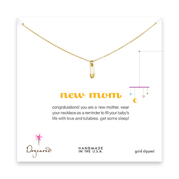 new+mom+necklace+with+gold+dipped+safety+pin