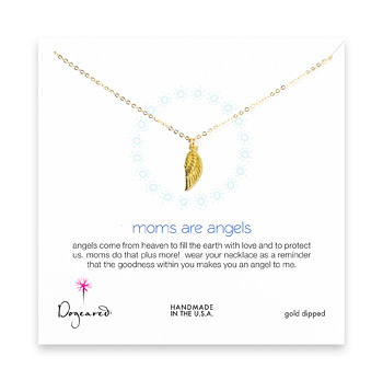 moms+are+angels+necklace%2C+gold+dipped