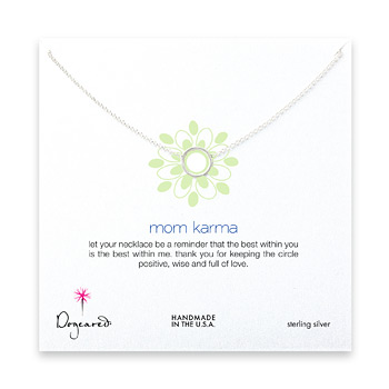 mom+karma+necklace%2C+sterling+silver+-+18+inches