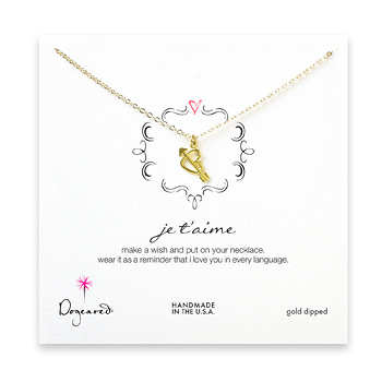 je+t%27aime+gold+dipped+necklace