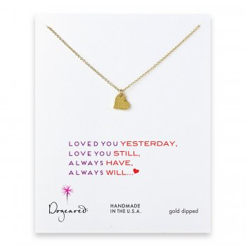 love+collection+sparkle+heart+necklace%2C+gold+dipped
