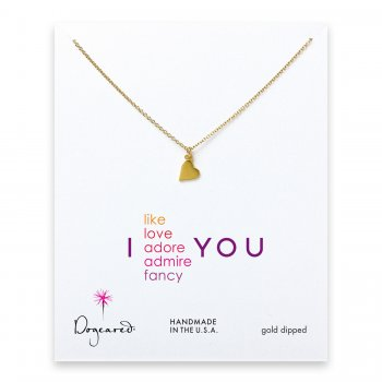 love+collection+sideways+heart+necklace%2C+gold+dipped
