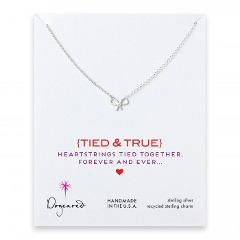 love+collection+bow+necklace%2C+sterling+silver