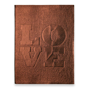 large love journal with copper leather : Dogeared Jewels and Gifts