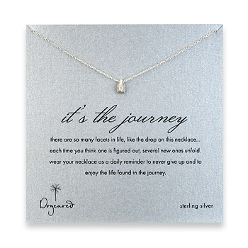 Dogeared - Its the Journey necklace