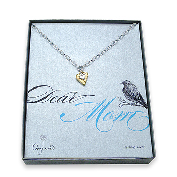 me and mom sterling silver necklace : Dogeared Jewels and Gifts :  sterling silver dogeared jewels and gifts cupid heart dear mom