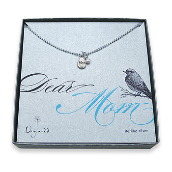 mom's so pretty sterling silver necklace : Dogeared Jewels and Gifts