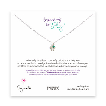 learning+to+fly+sterling+silver+necklace+with+butterfly+and+green+onyx+bead