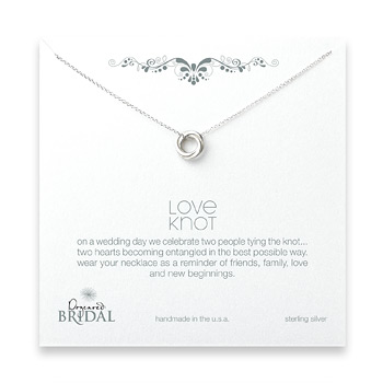 bridal+love+knot+necklace%2C+sterling+silver