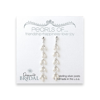 bridal+dangling+pearl+sterling+silver+earrings