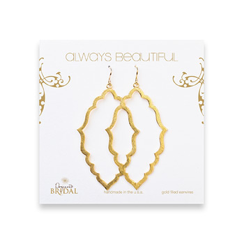 bridal+earrings%2C+always+beautiful+moroccan%2C+gold+dipped