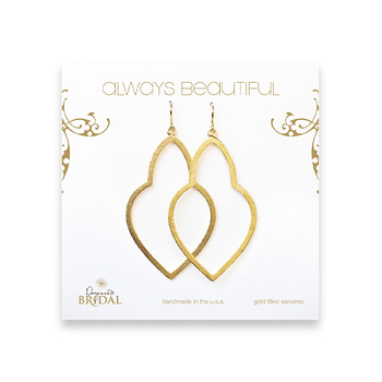 bridal+earrings%2C+always+beautiful+empress%2C+gold+dipped