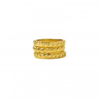 gifts+to+go+collection+gold+dipped+rings%2C+links%2Fwheat%2Fflowers+-+size+6