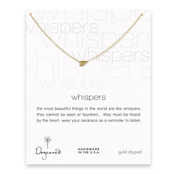 whispers+sideways+heart+necklace%2C+gold+dipped