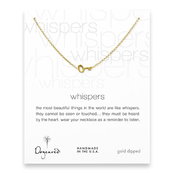whispers+simple+key+necklace%2C+gold+dipped