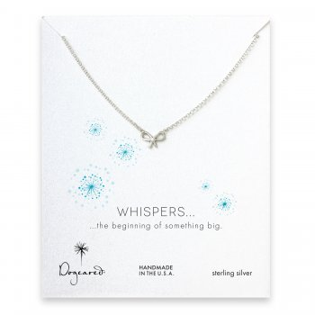 whispers+bow+necklace%2C+sterling+silver
