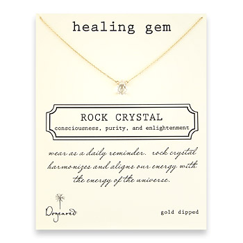 healing+gem+rock+crystal+necklace%2C+gold+dipped