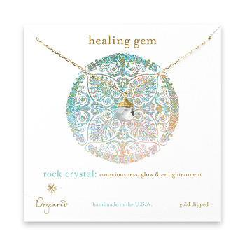 healing+gem+briolette+rock+crystal+necklace%2C+gold+dipped