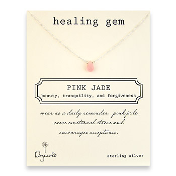 healing+gem+pink+jade+necklace%2C+sterling+silver