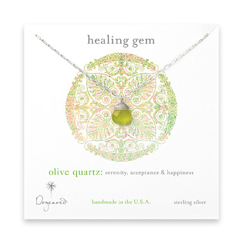healing+gem+briolette+olive+quartz+necklace%2C+sterling+silver