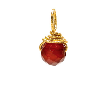 carnelian+round+gem%2C+gold+dipped