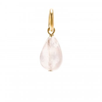 rose+quartz+teardrop+gem%2C+gold+dipped