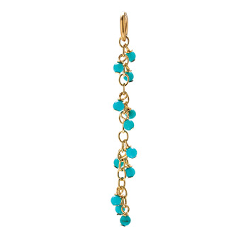 turquoise+cascading+gems%2C+gold+dipped