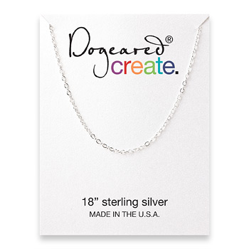 create+chain%2C+sterling+silver+-+18+inches