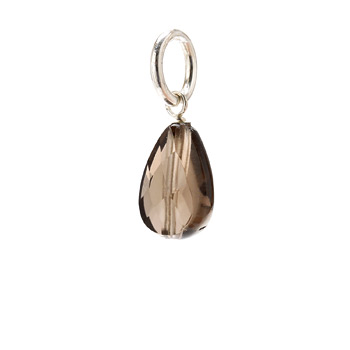 smokey+quartz+teardrop+gem%2C+sterling+silver