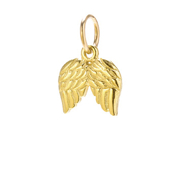 angel+wings+charm%2C+gold+dipped