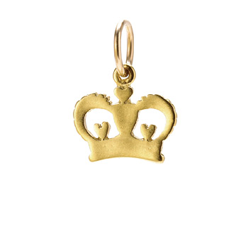 heart+crown+charm%2C+gold+dipped