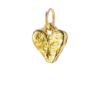 stone+heart+charm%2C+gold+dipped